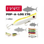 Hart Pop-a-Log ProCollection White Yellow 17cm 120g