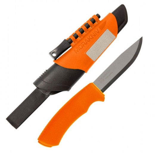 Nůž Mora Bushcraft Survival Orange