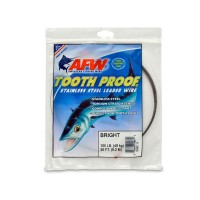 AFW Tooth Proof Leader Wire 9m 48kg