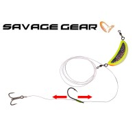 Savage Gear Nordic Bait Fish Halibut 300g háčky 3/0 a 6/0